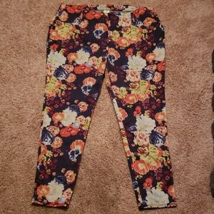 Faded Glory Flower Print Jeggings